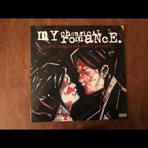 My Chemical Romance Three Cheers Vinyl Album